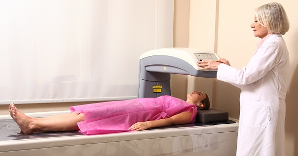 bone density test for osteoporosis