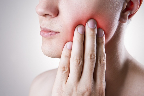toothache due to dental cavity