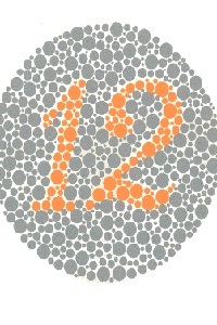 Ishihara's Test for Color Deficiency (Color Blindness)
