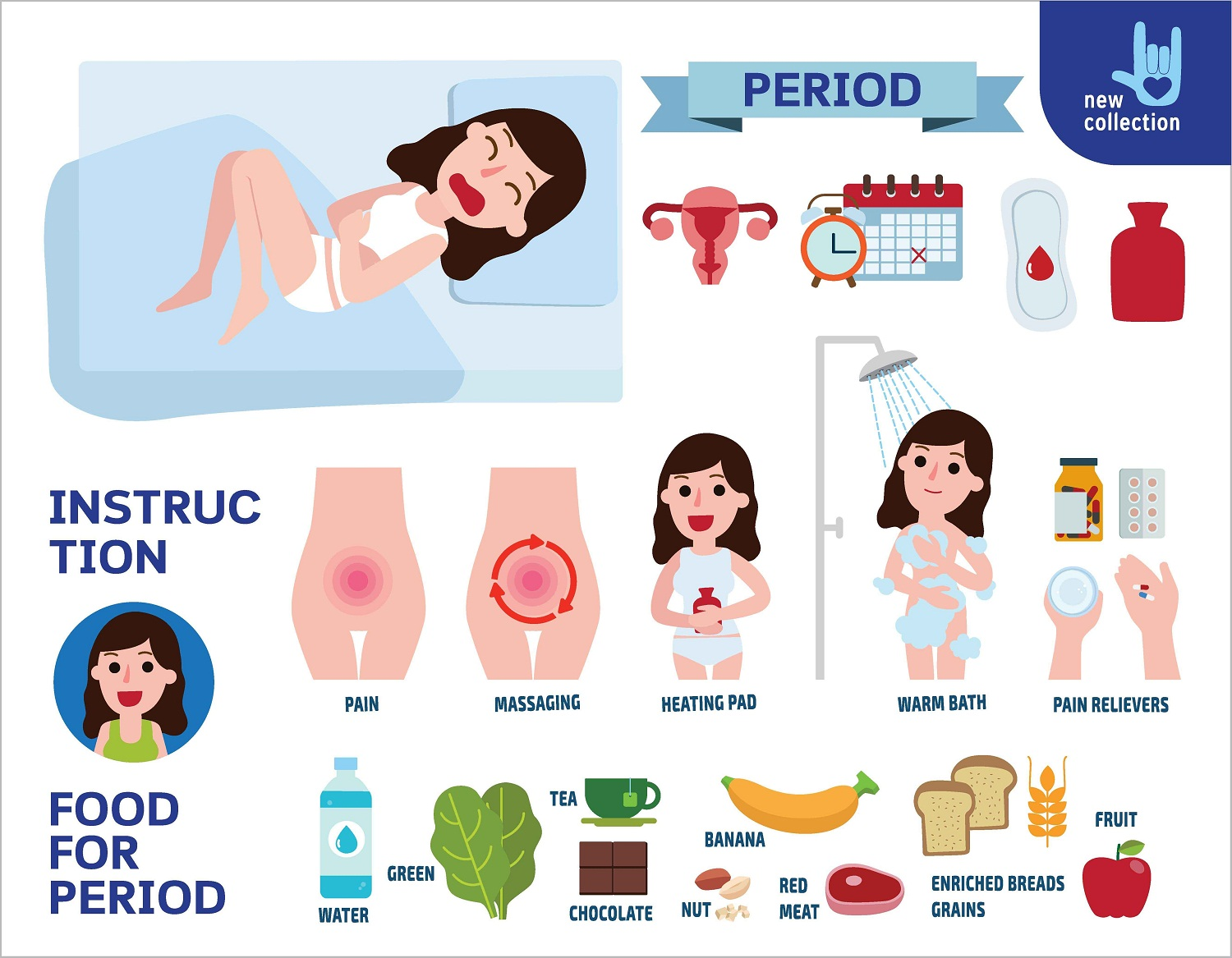 Tips for women in menstruation