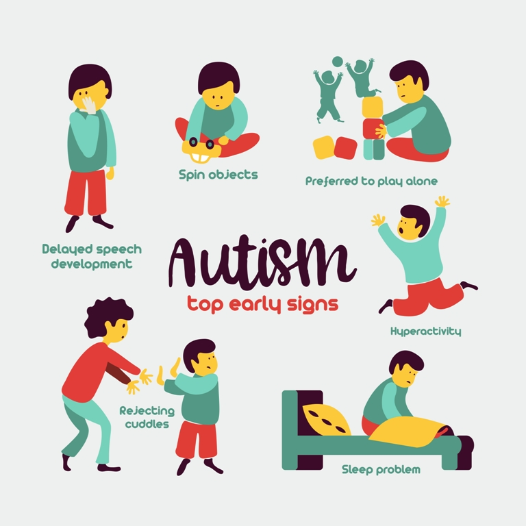 Top early signs of autism in kids